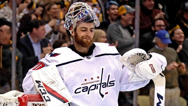 Braden Holtby Says He Won T Join Capitals At White House Cbc Sports