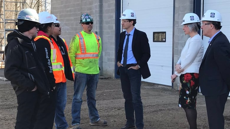 Prime Minister Justin Trudeau talks trade strategy during Thunder Bay visit