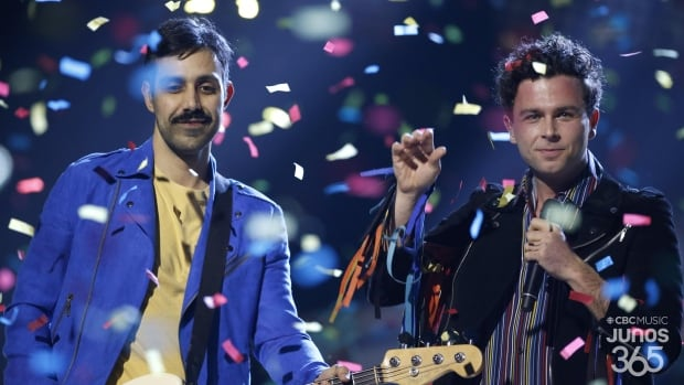 Watch Arkells perform 'Hand me Downs' at the 2019 Junos