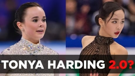 On-ice collision being called Tonya Harding 2.0