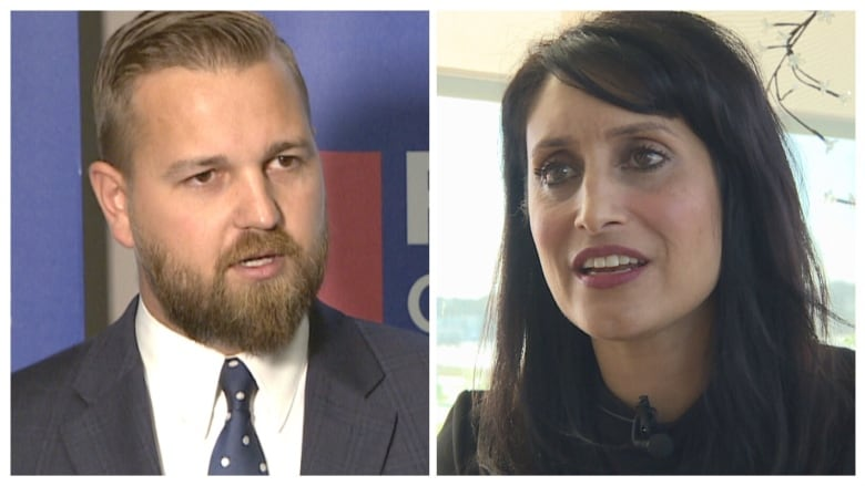 High-profile conservatives face off in Chestermere-Strathmore | CBC News