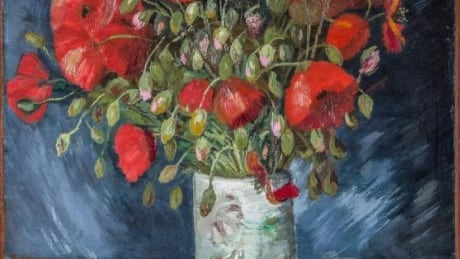 Vase with Poppies Vincent Van Gogh