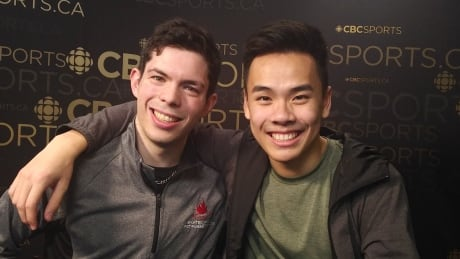 Canadian rivals Messing, Nguyen inseparable off ice — and on it, too