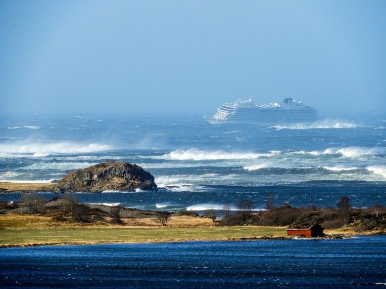 Norwegian Cruise Ship Issues Mayday, Evacuates Passengers Amid Rough Seas