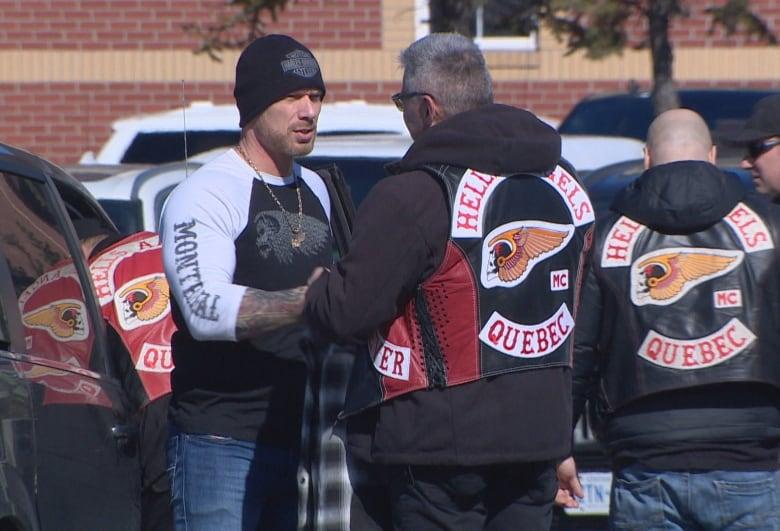 Dozens of bikers attend funeral for Hells Angels member