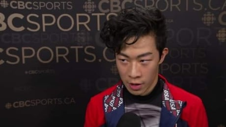 Nathan Chen reflects on his spectacular free skate