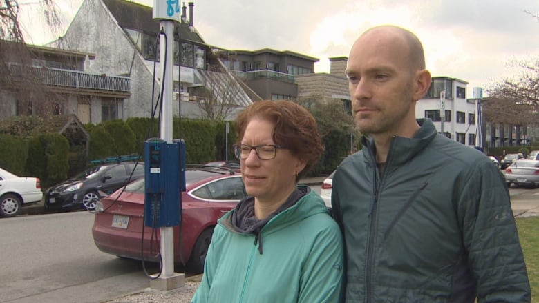 Check with strata council before buying electric car, Vancouver couple warns