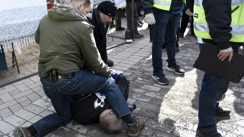 Finnish election heats up after attack on minister, controversial video