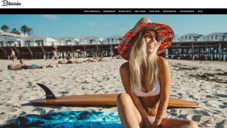 Bikinishe web page capture