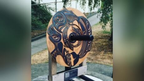 Significant piece of Coast Salish art stolen in Nanaimo