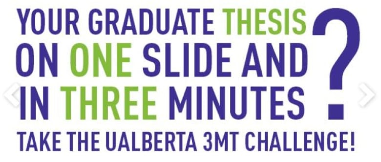 3 minute thesis ualberta