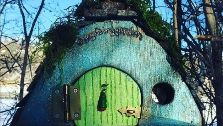 Fairy doors, gnome homes enchant Edmonton's river valley