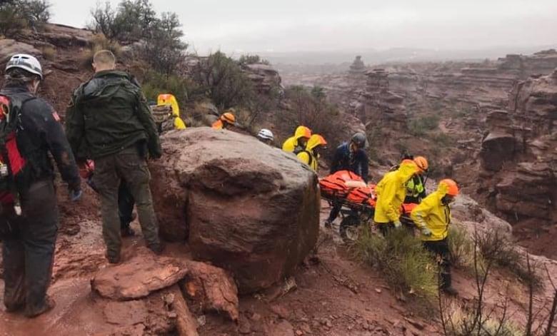 Alberta mountain biker loses leg in freak Utah hiking accident