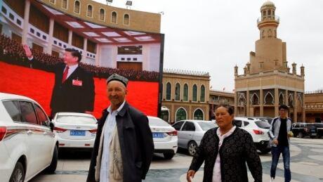 Ethnic Uighur people