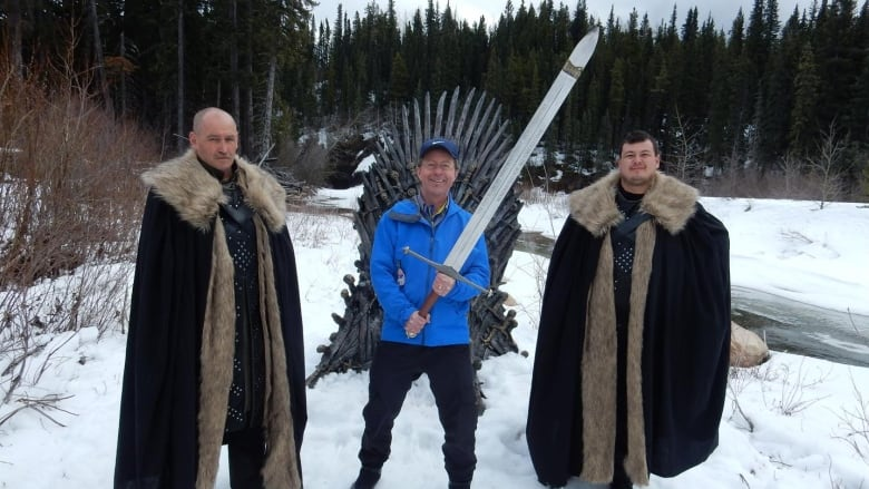 Game of Thrones contest brings surge of visitors to small B.C. town in quest for Iron Throne
