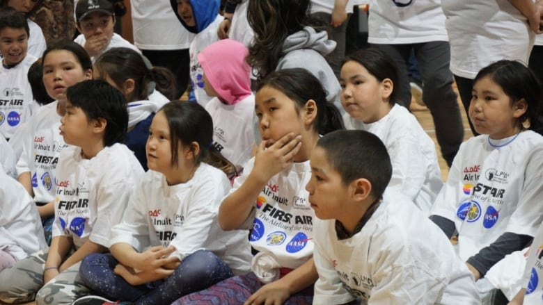 Out of this world: Kangiqsualujjuaq students radio Canadian astronaut in space