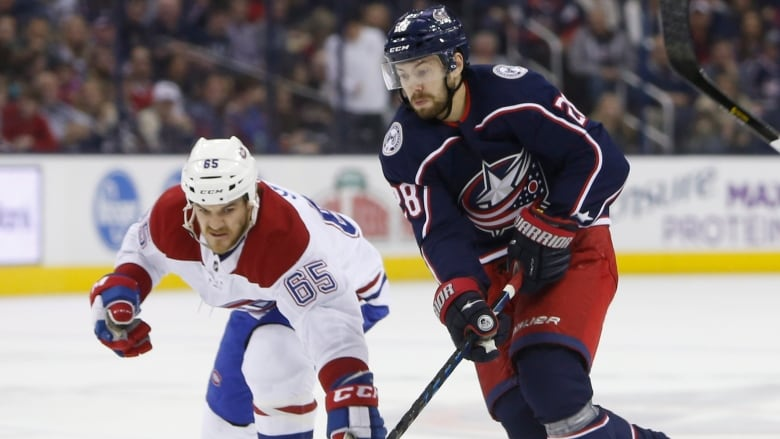Blue Jackets jump into playoff spot with win over Canadiens | NHL