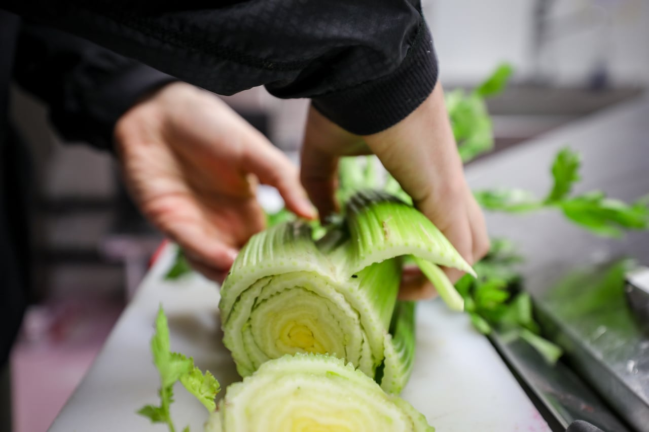Celery prices soar as juice shops struggle to meet demand from