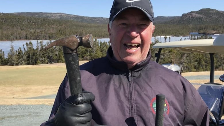 They're golfing here, and skiing there, so yeah … it's spring in N.L.