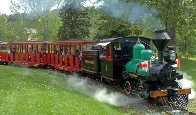 Ever dreamed of driving a steam engine? Prince George's beloved