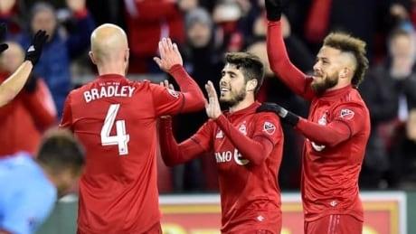 Pozuelo shines in TFC's win over New York City