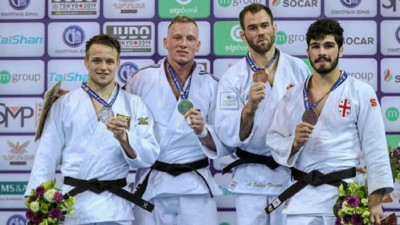 Canada's Valois-Fortier wins bronze at judo Grand Prix