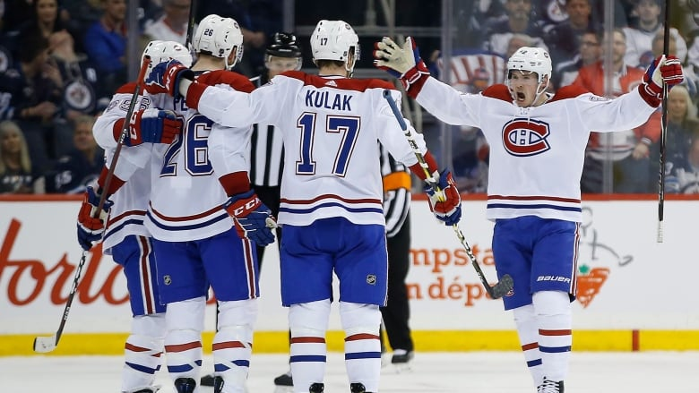 Canadiens Continue Playoff Push With Win Over Jets Cbc Sports