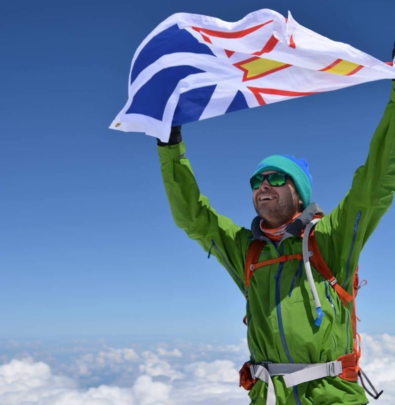 For this St  John's man, Everest summit is just steps — many, many