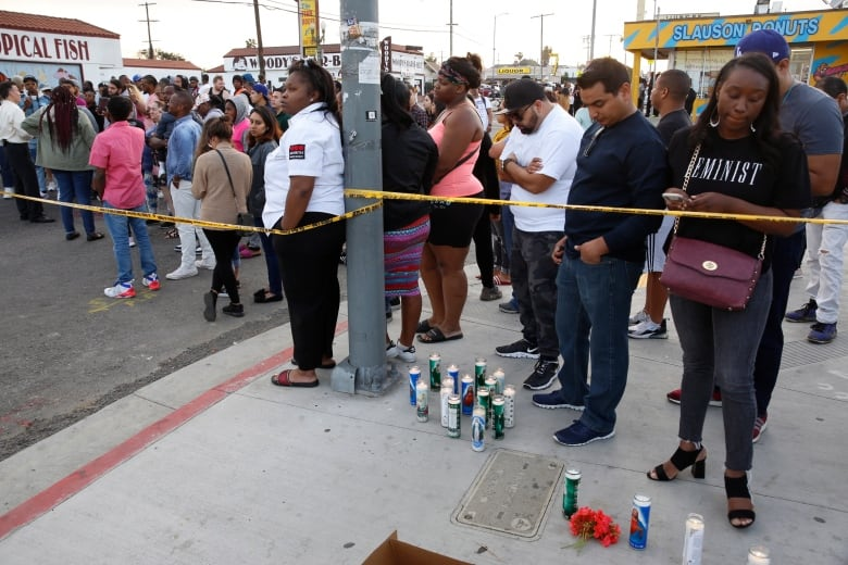 U S  rapper Nipsey Hussle shot dead outside his L A  store