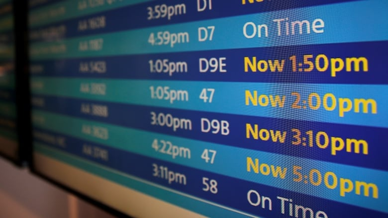 Major delays as multiple airlines face system-wide issues