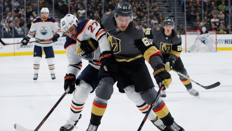Knights snap five-game skid with win over Oilers