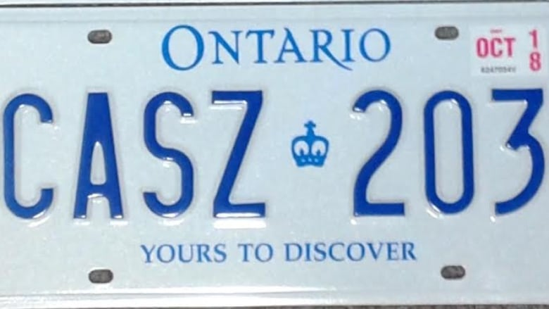 ae73b6c697b5 Ontario s new licence plate slogan will be  A Place To Grow