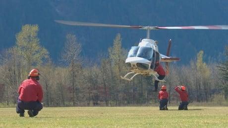 B.C. wildfire crews training