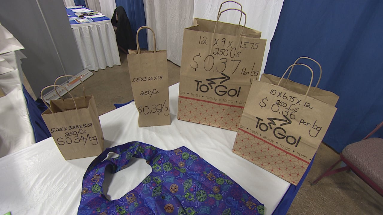 Trump Entertainment Resorts Used Shopping Bags