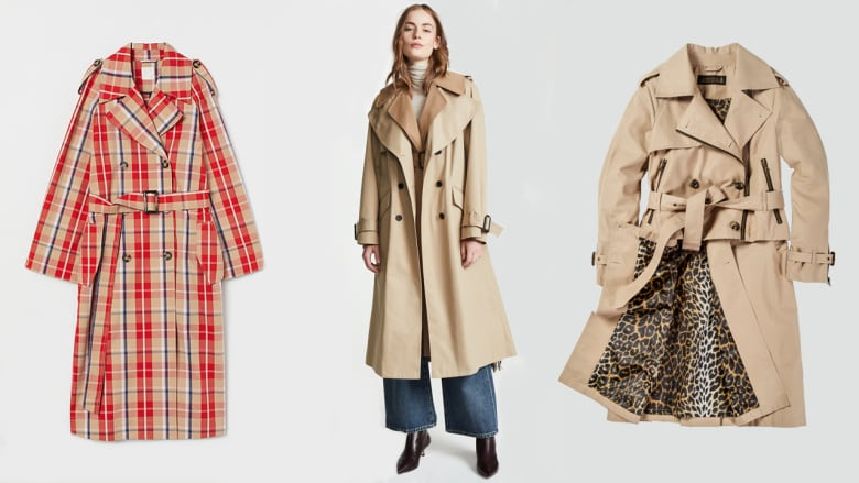 half off cheapest sale cozy fresh Time to trench: 10 spring trench coats to shop now and at ...