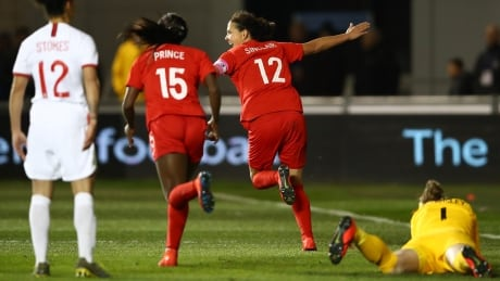 180 and counting: Canada's Sinclair scores to move ever closer to goal record
