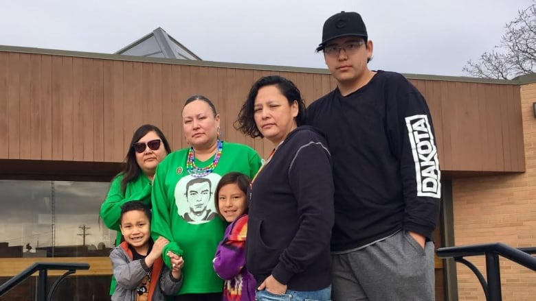Mother of a First Nations hockey player killed says she has no anger