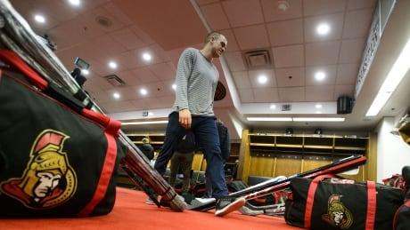Ottawa Senators 20190408 locker clean-out