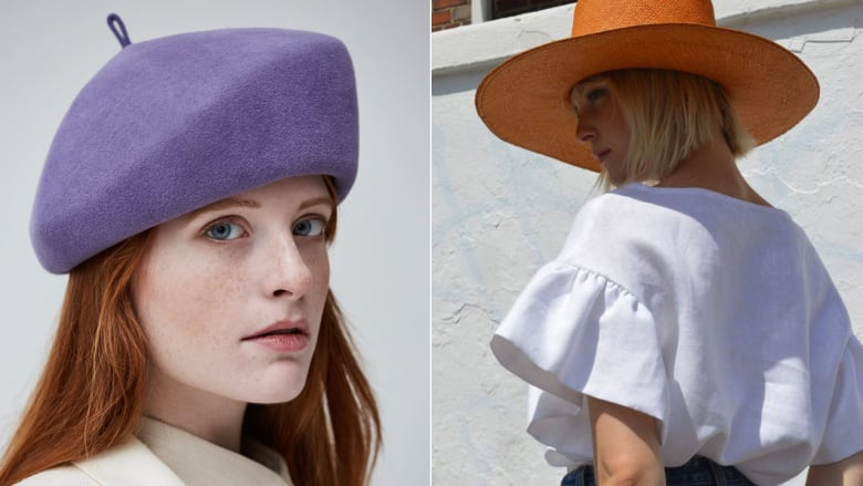 dc11f04d666af5 Stylish hats are the surprise hit accessory for spring | CBC Life