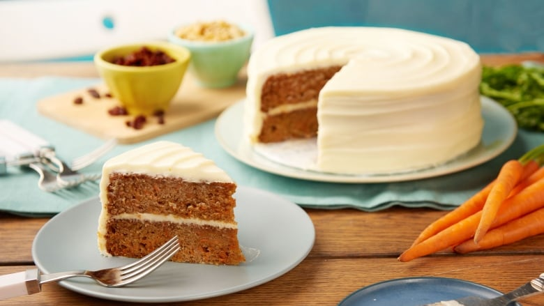 Classic for a reason: Carrot Cake with Cream Cheese Icing