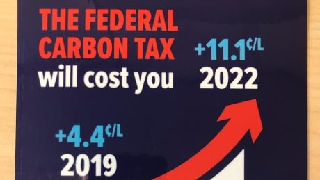 Anti-carbon tax stickers will cost Ontario government at least $5K