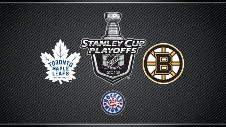 HNIC Playoffs - Toronto Maple Leafs at Boston Bruins
