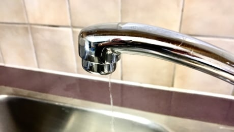 Water tap trickle
