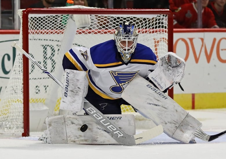 Blues goaltender Jordan Binnington under fire for controversial tweets