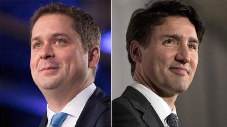 Scheer Trudeau composite