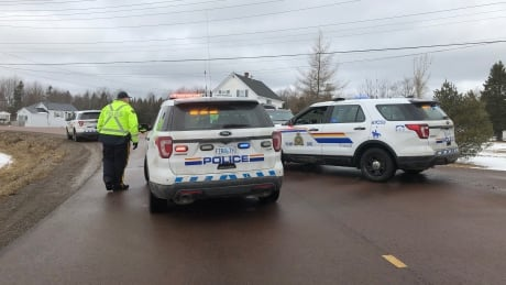 RCMP block road to Alton Gas site