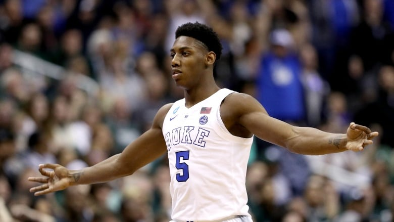 Duke freshman guard R.J. Barrett enters the NBA Draft