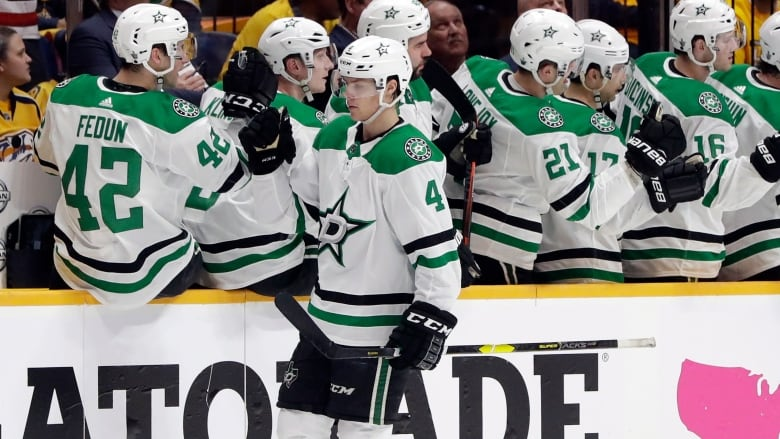outlet store 988a9 50741 Rookie Heiskanen shines in playoff debut to lead Stars past ...