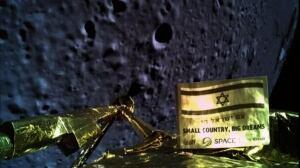 Israeli spacecraft crashes onto moon