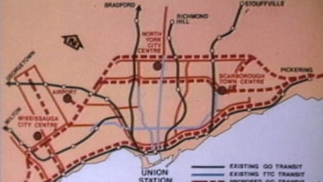 35 years of Toronto transit that never happened